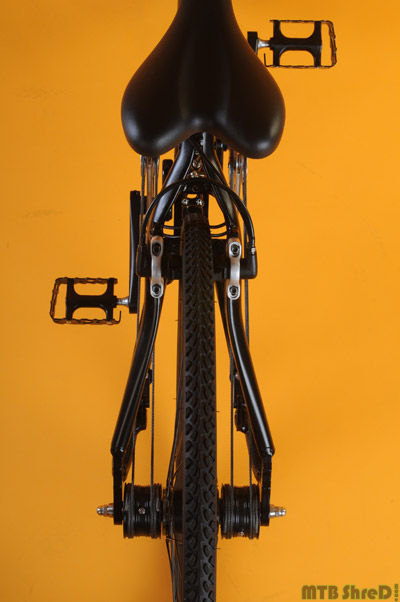 Rope Pulley Drive : String bike symmetrical rope pulley drivetrain system